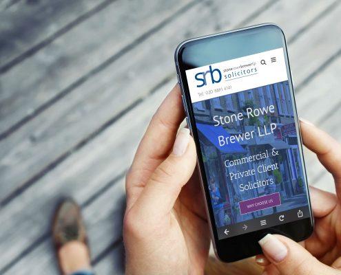 Solicitors Mobile Website